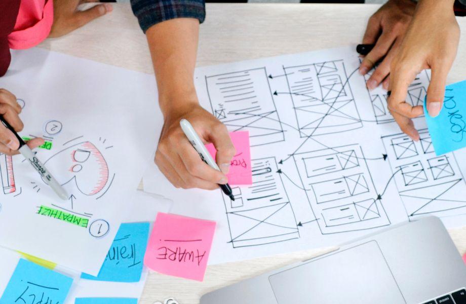 איפיון, עיצוב ובניית אתרים